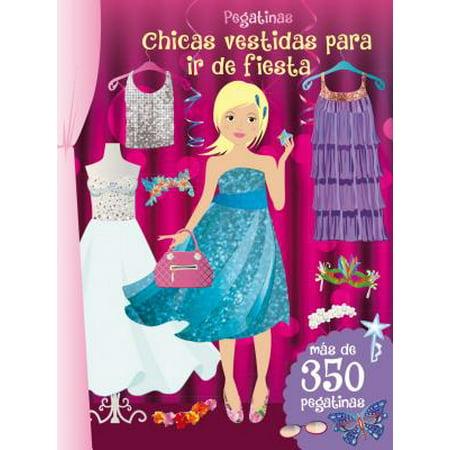 Pegatinas : Chicas Vestidas Para IR de Fiesta (Decoraciones De Halloween Para Fiestas Infantiles)