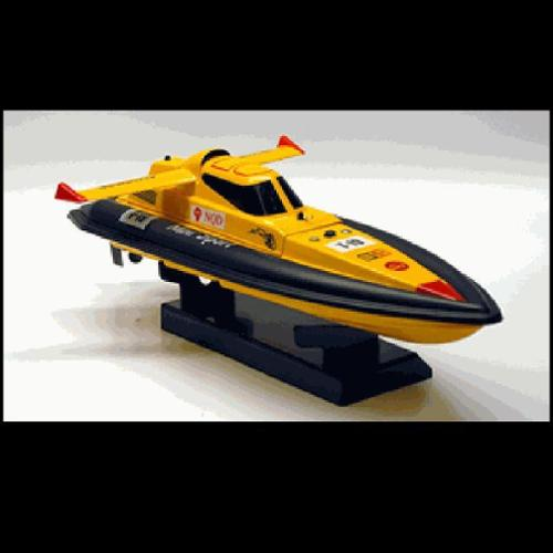 "17"" 1:25 Electric Mini Tracer Racing RC Boat Radio Control Ship High Speed - Yellow (Gift Idea)"