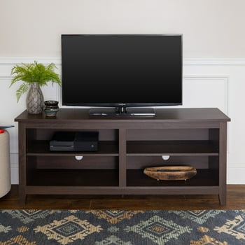Walker Edison Wood TV Media Storage Stand for TVs up to 64