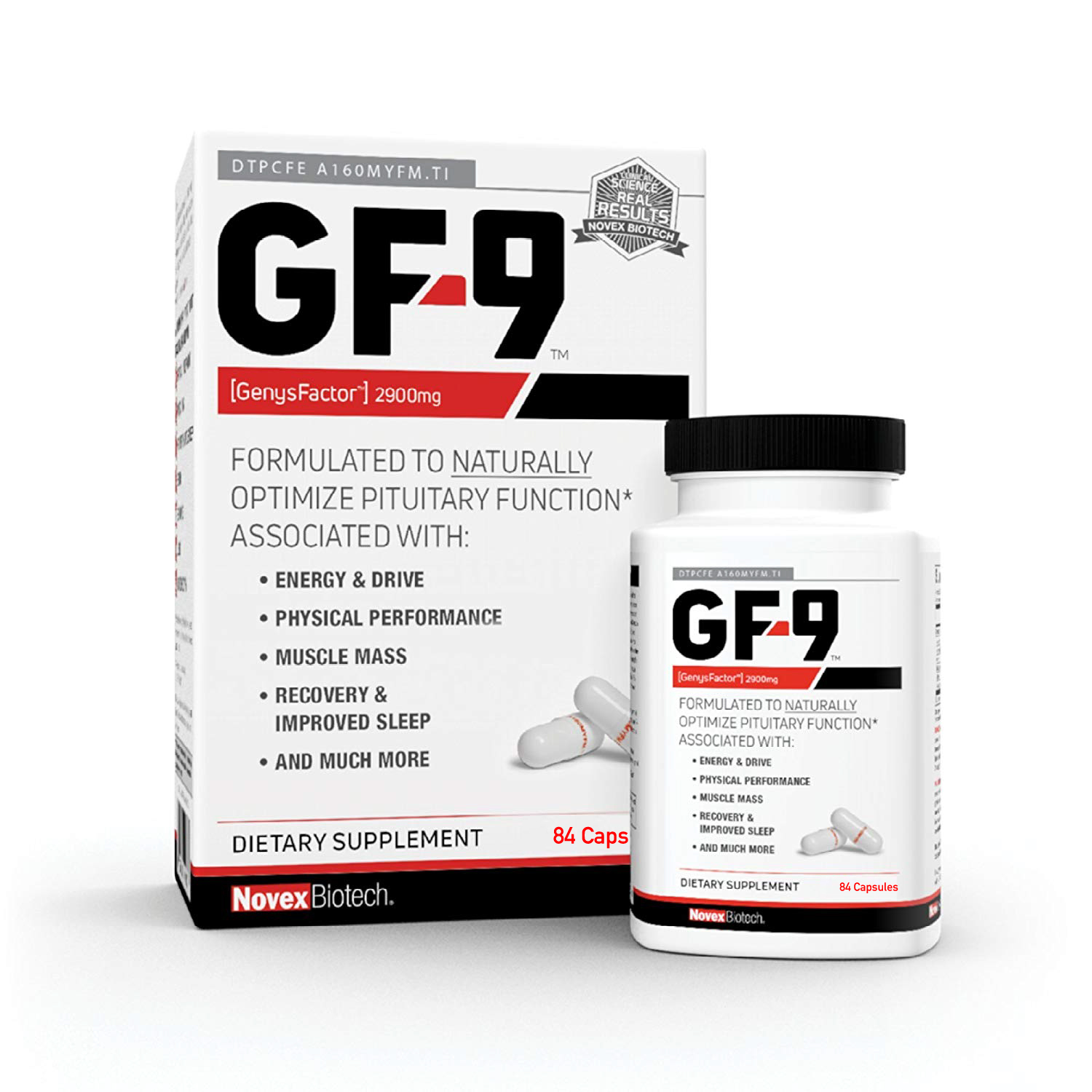 GF-9-84 Count - HGH Boosting Supplements for Men - Human
