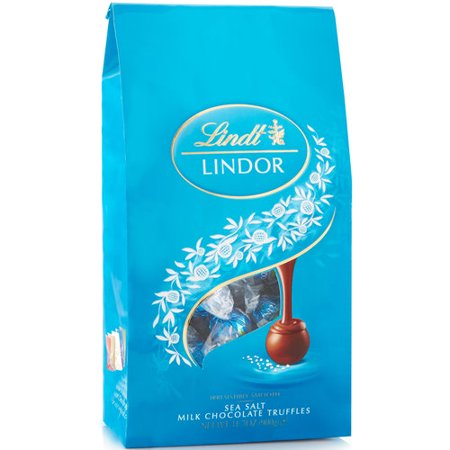 Lindt Lindor Sea Salt Milk Chocolate Truffles, 5.1 Oz. ()