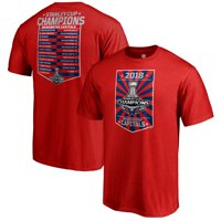 Washington Capitals Fanatics Branded 2018 Stanley Cup Champions Magic Moment Roster T-Shirt - Red