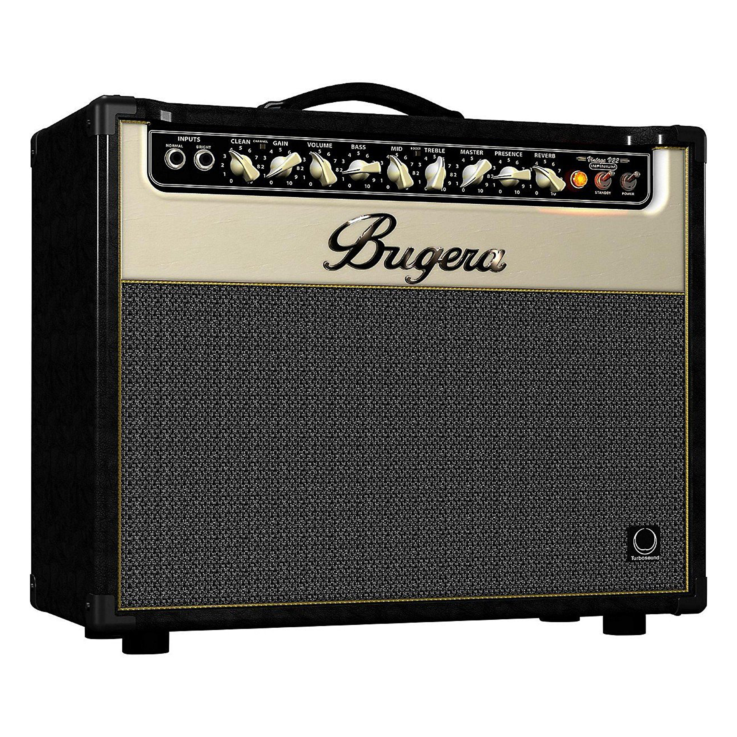Bugera V22 Infinium 22W 1x12 All Tube Guitar Combo Amp by Bugera