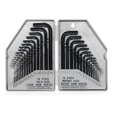 Generic 30 Pc Allen Wrench Set- SAE/ MM ()