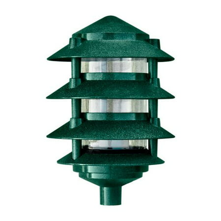Dabmar Lighting D5100-G Cast Aluminum Four Tier Pagoda Light, - Pagoda Area Light
