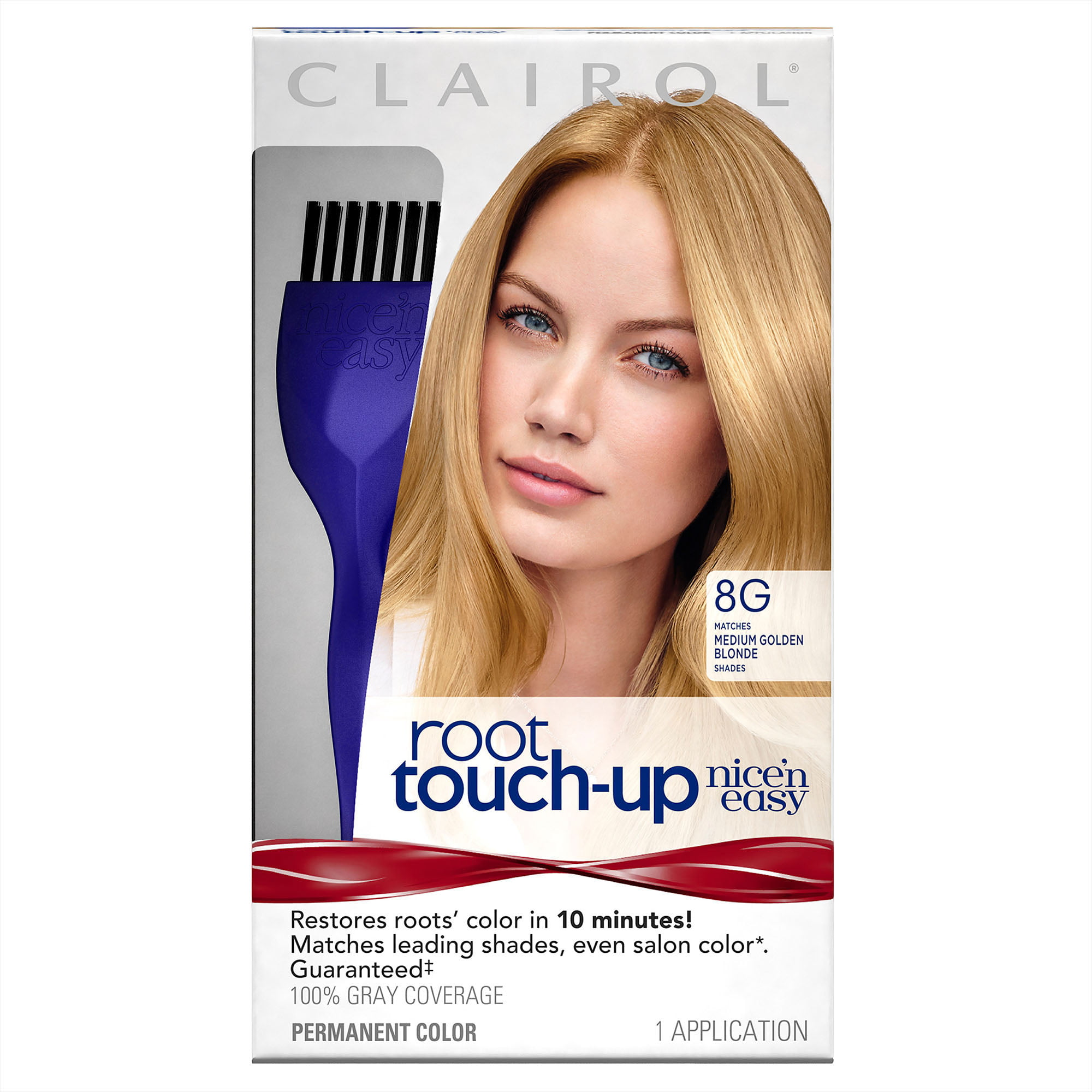 Clairol Nice N Easy Root Touch Up Hair Color Medium Golden Blonde 8g 1 Kit