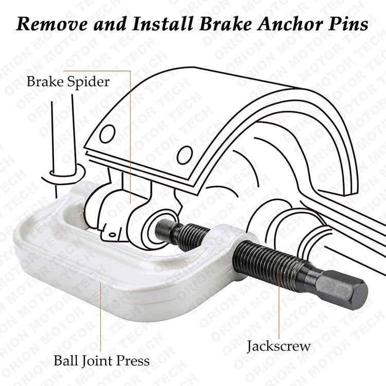 Heavy Duty Ball Joint Press U Joint Removal Tool Kit With 4x4