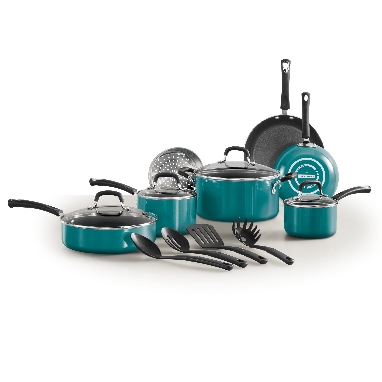 Tramontina Select Teal Teflon Nonstick Cookware Utensils Dishwasher ...