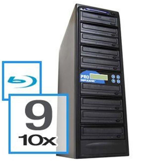 Produplicator A9BR10X500G 9 Blu-Ray Drive BD-CD-DVD Duplicator Plus Built-In 500GB HDD Plus USB Connection