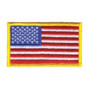 """Heros Pride Rayon/Polyester Embroidered Patch 3-3/8"""" x 2"""" Rayon/Polyester 0001HP"""