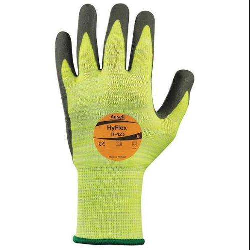 Ansell Size 9 Cut Resistant Gloves,11-423