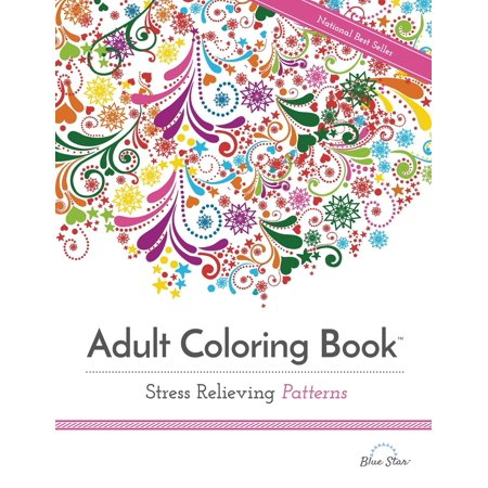 Adult Coloring Book Stress Relieving Patterns (Paperback) - Halloween Coloring Pages Printable Adults