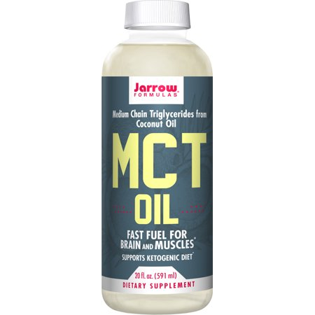 Jarrow Formulas MCT Oil, Supports Brain and Muscles, 20 Fluid (Fluid Supplement)