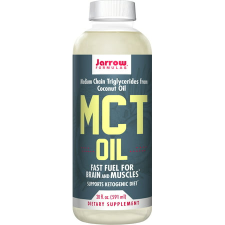 Jarrow Formulas MCT Oil, Supports Brain and Muscles, 20 Fluid Ounce](Halloween Brain Food)