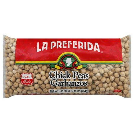 La Preferida Chick Peas Garbanzos, 16 oz, (Pack of 24) ()