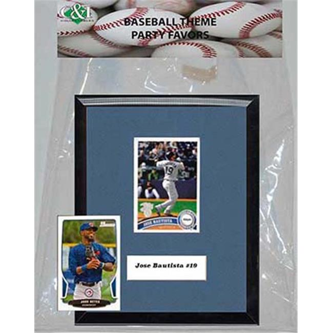 Candlcollectables 67LBBLUEJAYS MLB Toronto Blue Jays Party Favor With 6 x 7 Plaque