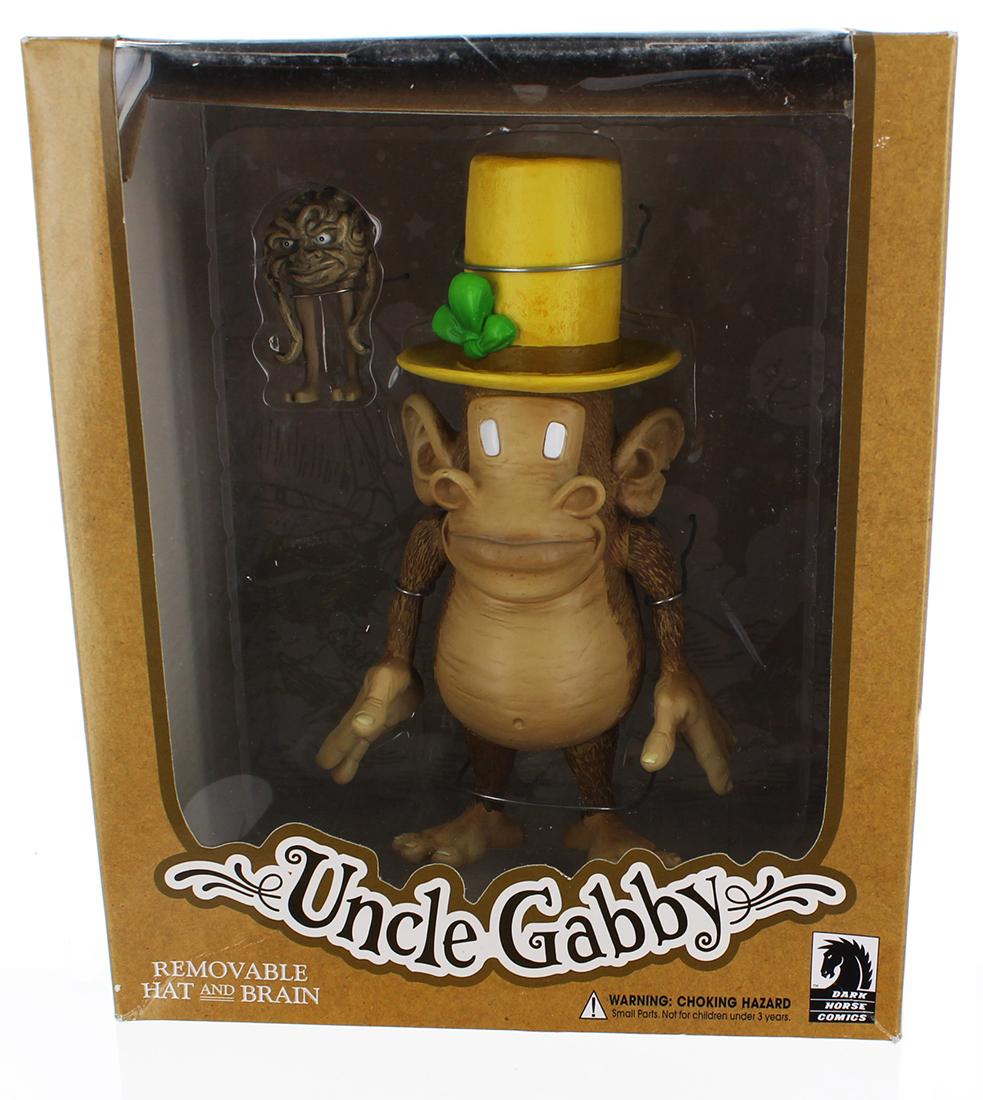 "Tony Millionaire's Maakies Uncle Gabby 8"" Vinyl Figure"
