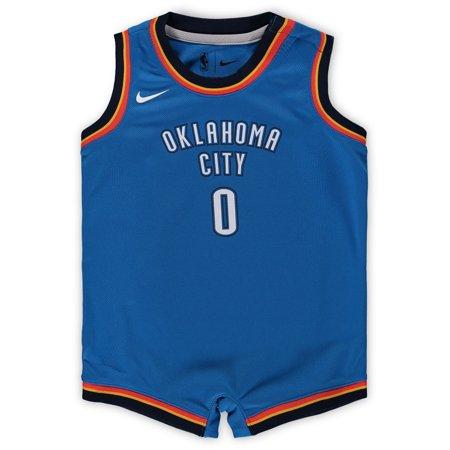 Russell Westbrook Oklahoma City Thunder Nike Infant Replica Jersey Bodysuit  - Blue - Walmart.com 03a2cc12a
