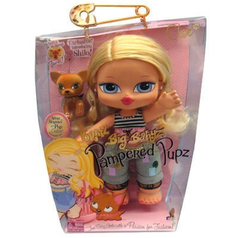 MGA Entertainment Bratz Big Babyz Pampered Pupz Cloe Doll