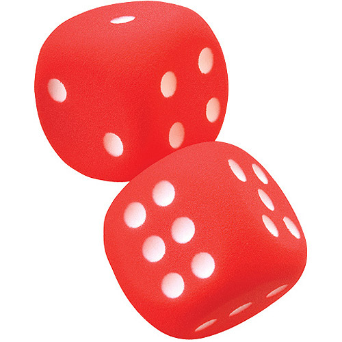 Voit® Tuff-Coated Foam Dice