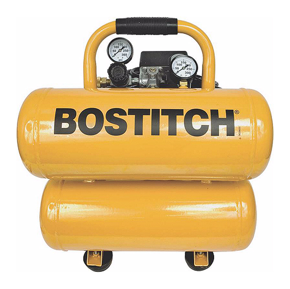 Bostitch CAP2041ST-OL 4 Gallon Stack Compressor by STANLEY BOSTITCH