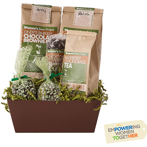 Women's Bean Project Chocolate Lover's Gift Basket, 6 pc