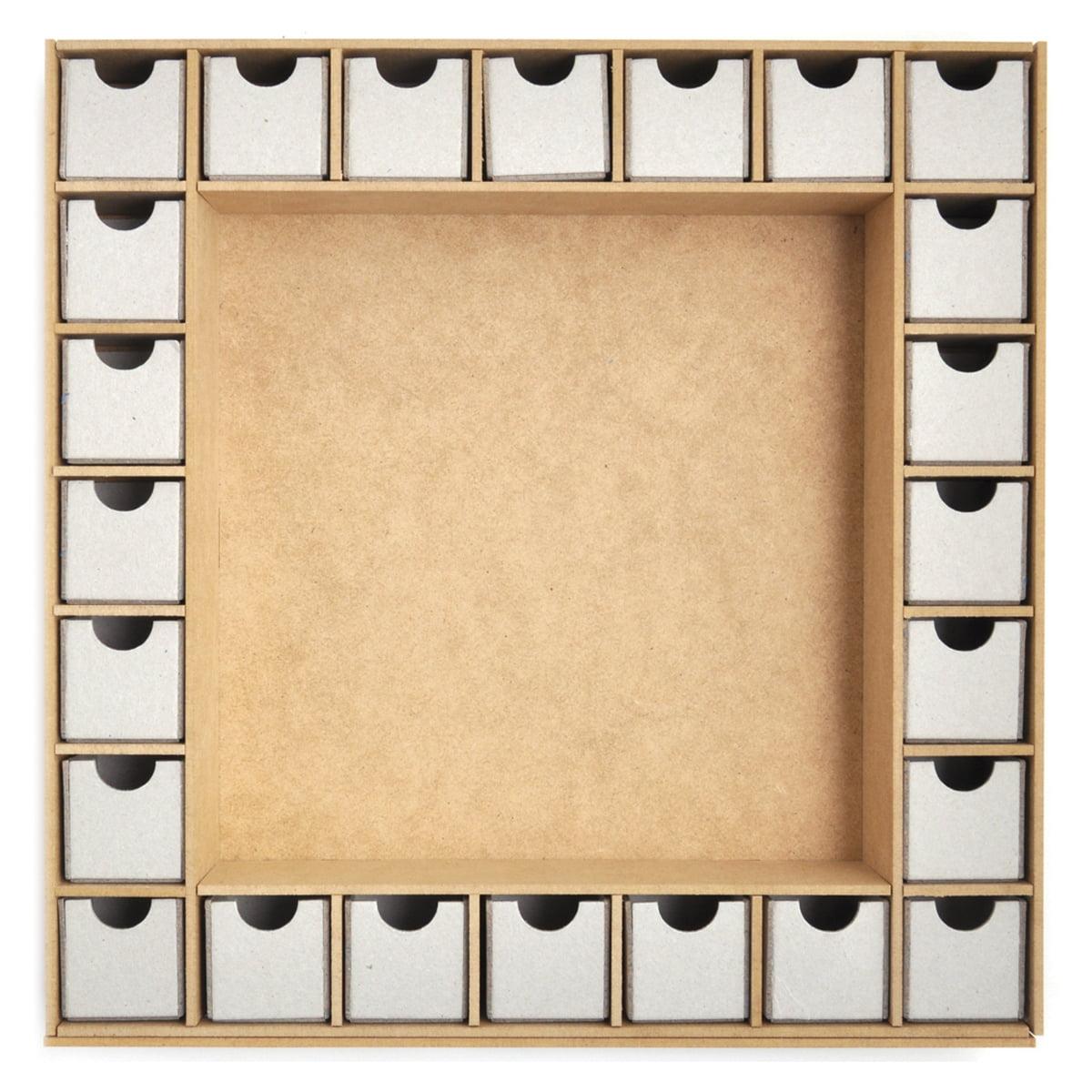 Beyond The Page MDF Square Shadow Box Advent Calendar-13