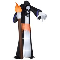 Gemmy 11ft Airblown Inflatable Pointing Reaper Giant Deals