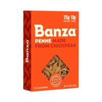 (2-pack) Banza Penne, 8 Oz