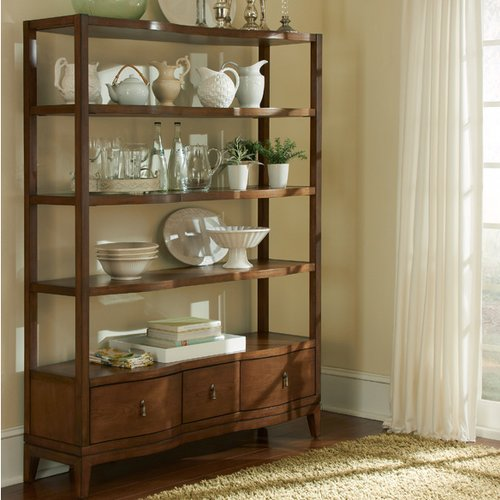 Darby Home Co Petrey 72'' Etagere Bookcase by