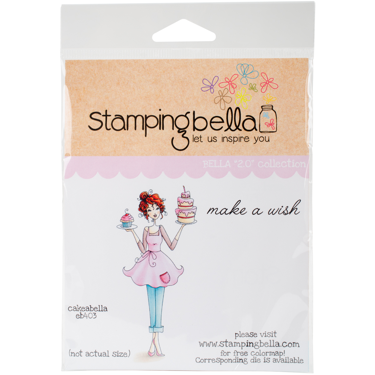Stamping Bella Cling Stamps-Cakeabella