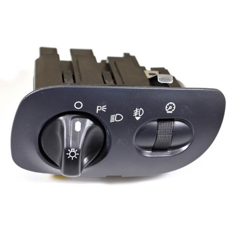 PT Auto Warehouse HLS-1367 - Headlight Switch - with Fog Lights, without Auto Headlight