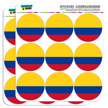 Colombia National Country Flag 2
