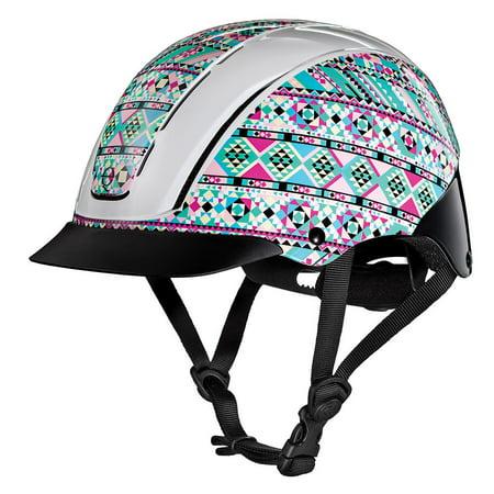 Troxel Performance Headgear  Troxel Spirit Kaleidoscope Horse Riding - Schooling Horse Riding Helmet