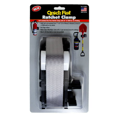 Ratchet Clamp Set - QUICK FIST Ratchet Clamp - #70070