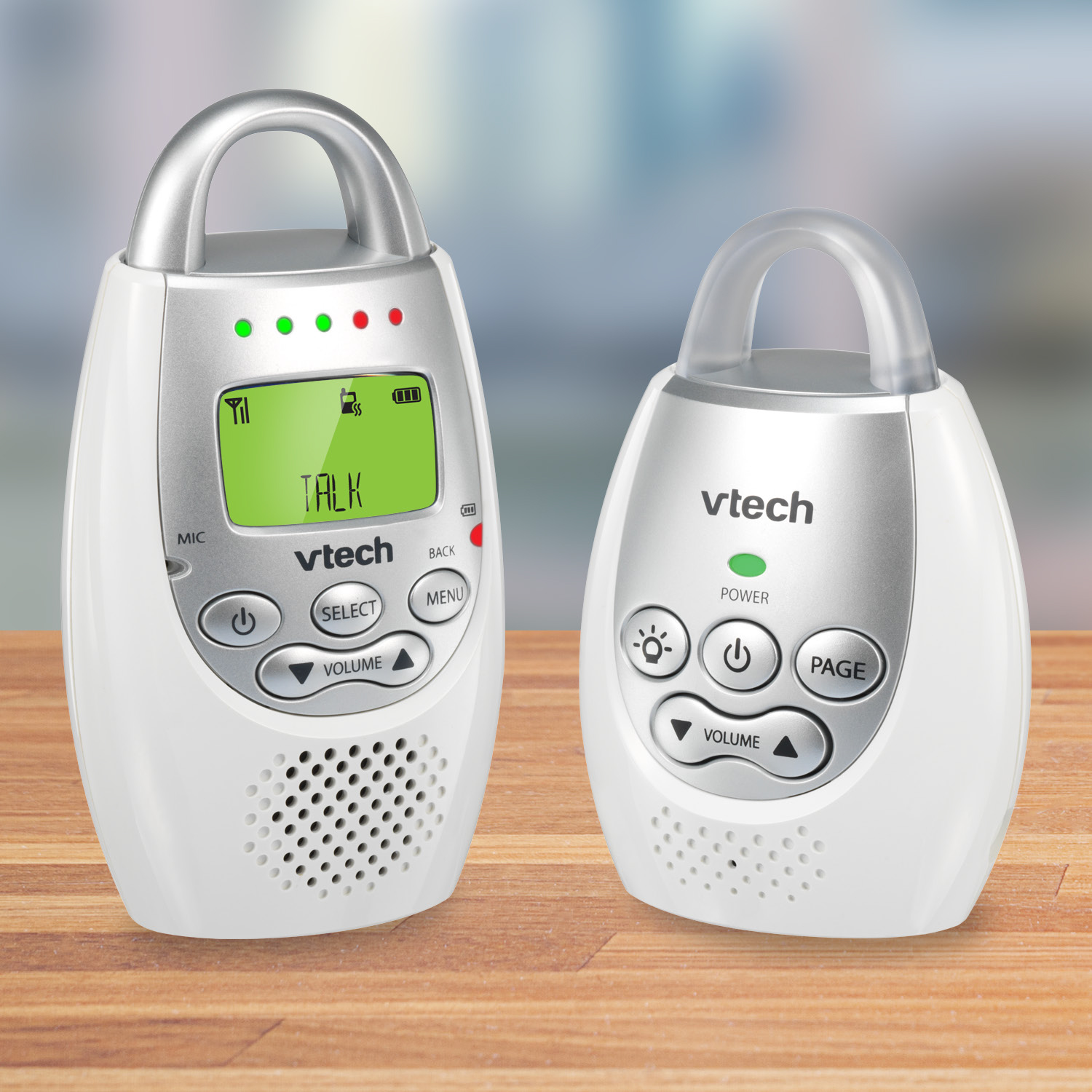 VTech Safe & Sound® DM221 DECT 6.0 Digital Audio Baby Monitor