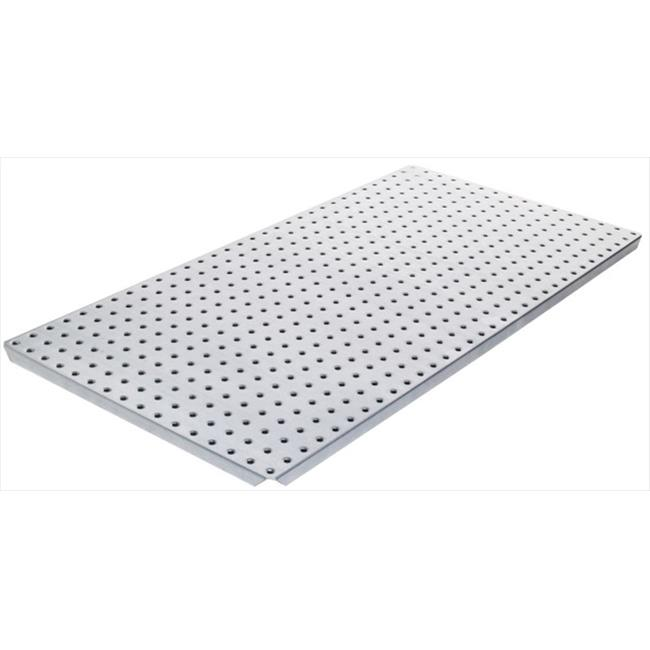 Alligator Board ALGBRD16x32GALV 16 in. L x 32 in. W Metal Pegboard Panel with Flange - Pack of 2