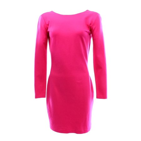 Amanda Uprichard - Amanda Uprichard NEW Hot Pink Women s Medium M Bow Back  Ponte Dress  168 DEAL - Walmart.com 08f3dc39e4