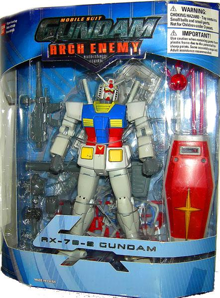 Arch Enemy RX-78-2 Gundam Action Figure by