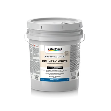 Colorplace interior semi gloss latex wall and trim paint for Gloss paint for trim