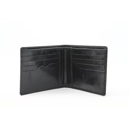 TONY PEROTTI MENS ITALIAN BULL LEATHER CLASSIC BIFOLD CREDIT CARD
