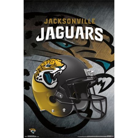 Jacksonville jaguars helmet 2015 poster poster print for International decor outlet jacksonville
