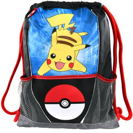 Pokemon Drawstring Sling Bag Backpack](Pokemon Gift Bags)