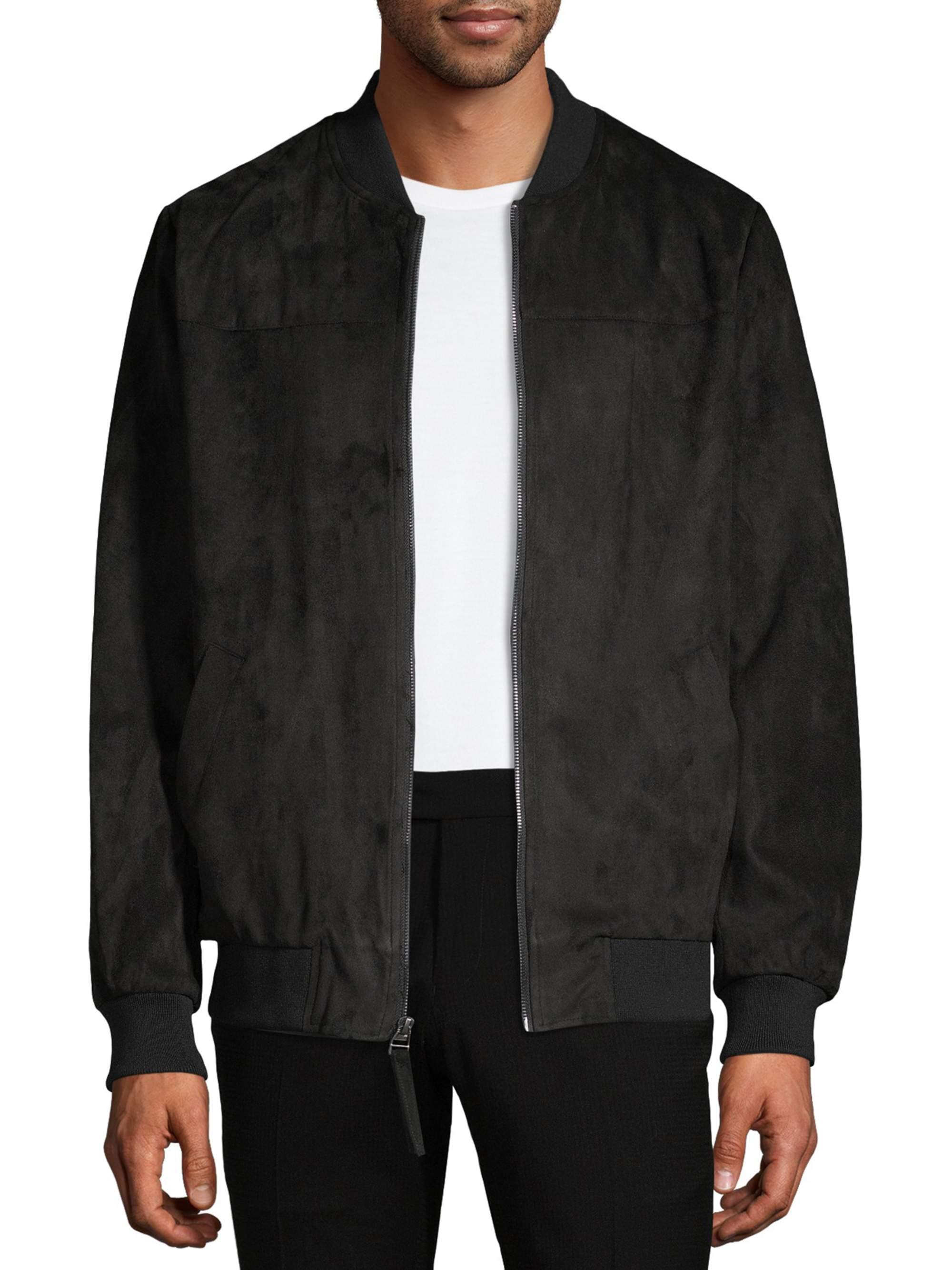 Bagatelle Men's Faux Suede Jackets, up to Size 2XL
