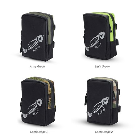 Fly Fishing Bag Portable Mini Fishing Tackle Gear Bag Pocket Fishing Tackle Pouch Outdoors Sports