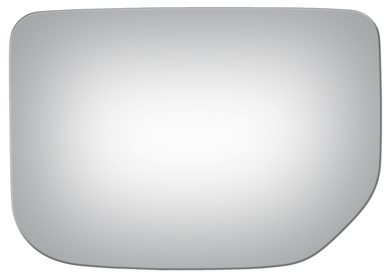 Fit System 90169 Ford//Mercury Passenger Side Replacement Mirror Glass