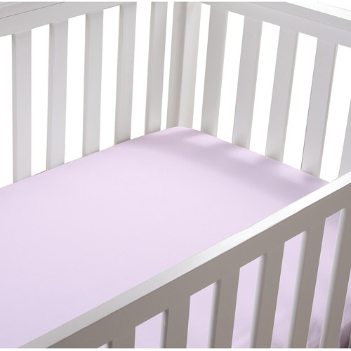 Summer Infant Cotton Crib Sheet, Pink, 2pk