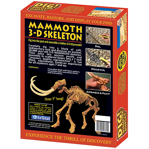 DIG! and DISCOVER: 3D Mammoth