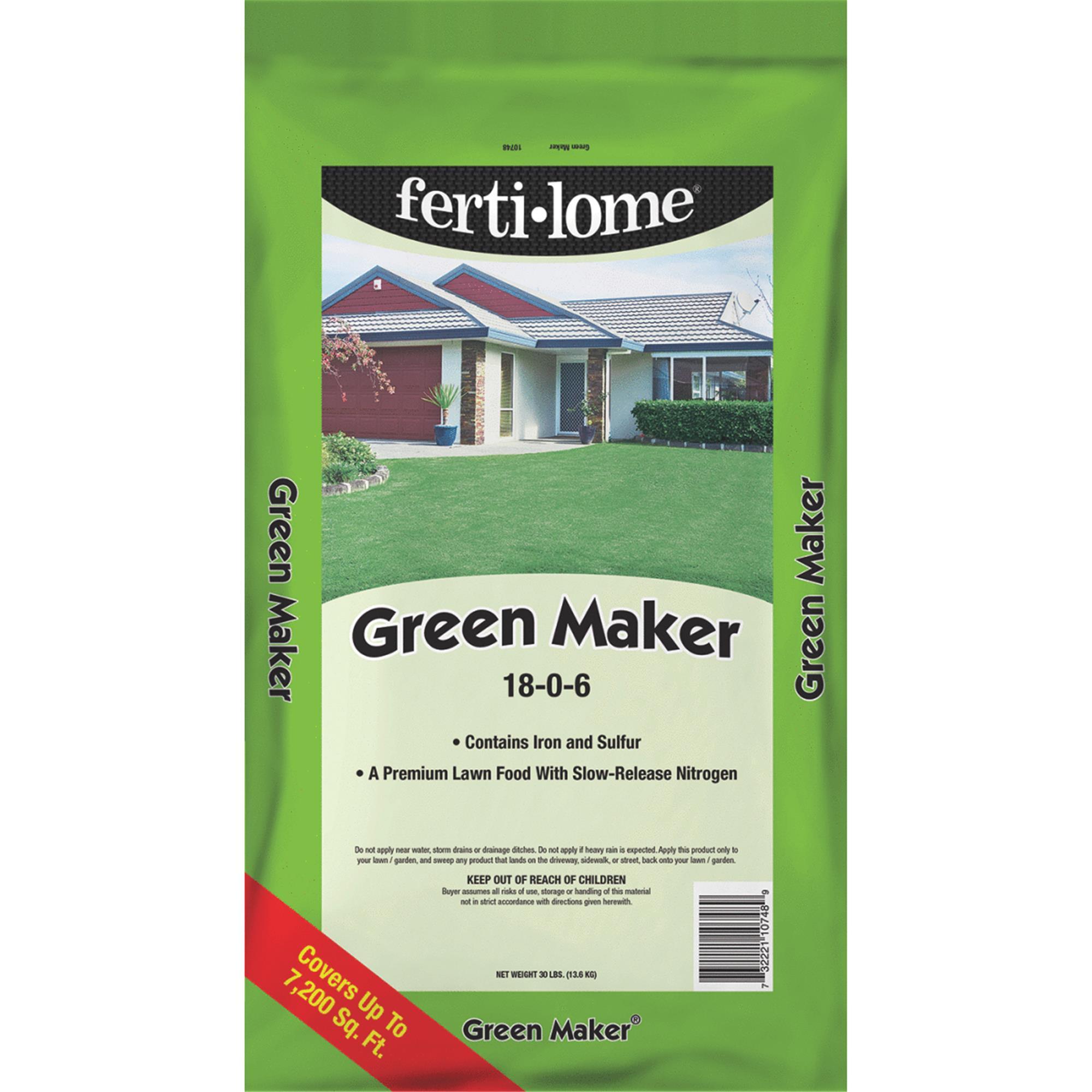 Ferti-lome Green Maker Lawn Fertilizer