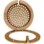 Groco RSC Bronze Round Hull Strainer with Access
